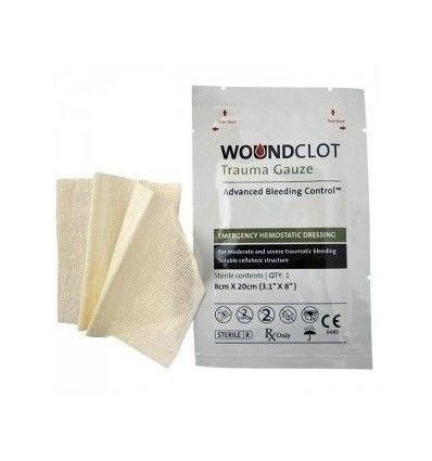 Woundclot Hemostatique Gauze - outpost-shop.com