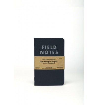 Field Notes Pitch Black - outpost-shop.com