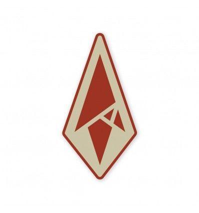 Terrain 365 Logo Sticker - Red Edition - outpost-shop.com