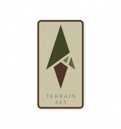 Terrain 365 Logo Sticker - Multi-color - outpost-shop.com