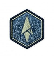 Terrain 365 | Logo Morale Patch - Maritime Hexagon