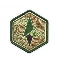 Terrain 365 | Logo Morale Patch - Topo Hexagon