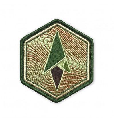 Terrain 365 Logo Morale Patch - Topo Hexagon - outpost-shop.com