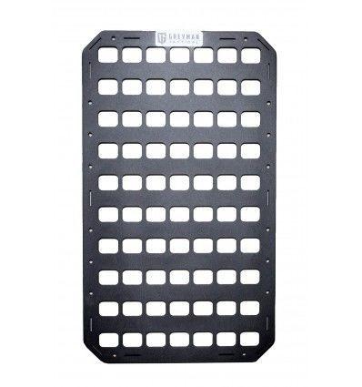 Greyman Tactical | Rigid Insert Panel MOLLE 12.25 x 21