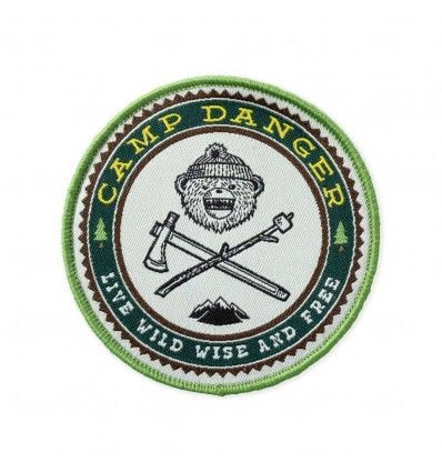 Prometheus Design Werx Camp Danger V6 LTD ED Morale Patch - outpost-shop.com