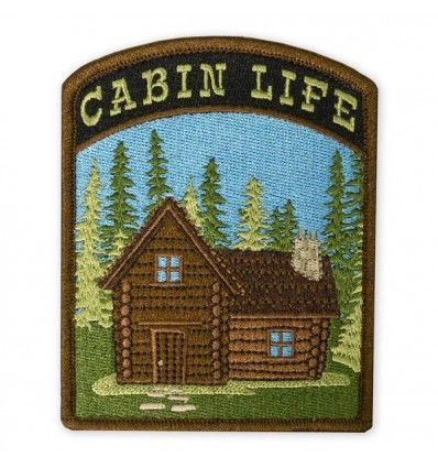 Prometheus Design Werx Cabin Life V1 LTD ED Morale Patch - outpost-shop.com