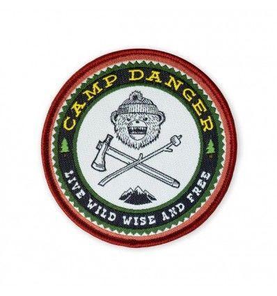 Prometheus Design Werx DRB Camp Danger V5 LTD ED Morale Patch - outpost-shop.com