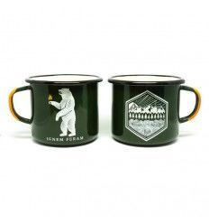 Prometheus Design Werx IGNEM FERAM + All Terrain Enamelware Mugs 16oz - outpost-shop.com