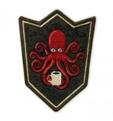 Prometheus Design Werx SPD Kraken Black Coffee Crest LTD ED Morale Patch - outpost-shop.com