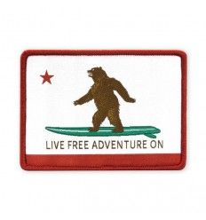 Prometheus Design Werx Live Free Adventure On CA State Flag Morale Patch - outpost-shop.com