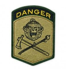 Prometheus Design Werx DRB Danger Flash Morale Patch - outpost-shop.com