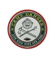 Prometheus Design Werx DRB Camp Danger Morale Patch - outpost-shop.com