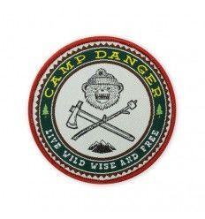 Prometheus Design Werx DRB Camp Danger Morale Patch - outpost-shop.com