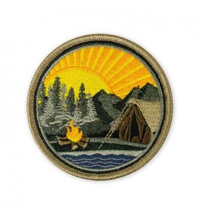 Terrain 365 Mountain Lake Campsite Morale Patch V1 - outpost-shop.com