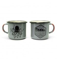 Prometheus Design Werx SPD Kraken DIY + All Terrain Enamelware Mugs 16oz - outpost-shop.com