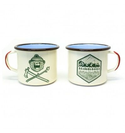 Prometheus Design Werx DRB Classic + All Terrain Enamelware Mugs 16oz - outpost-shop.com