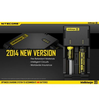Nitecore   IntelliCharger i2 Battery Charger