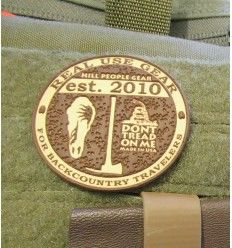 Hill People Gear Medallion Vinyl Patch - outpost-shop.com
