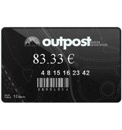 Outpost | Black card-100