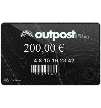 Outpost | Black card-200