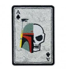 Prometheus Design Werx May 4th 2019 Boba Fett with Skull Death Card LTD ED Morale Patch - outpost-shop.com