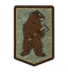 Prometheus Design Werx Bushcraft Bear with Axe Morale Patch - outpost-shop.com
