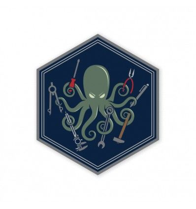 Prometheus Design Werx SPD Kraken DIY Sticker - outpost-shop.com