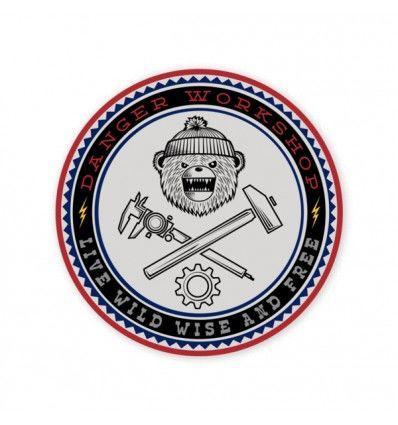 Prometheus Design Werx   IGNEM FERAM V4 Sticker