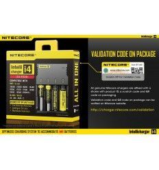 Nitecore | IntelliCharger i4 Battery Charger