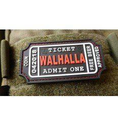 JTG | WALHALLA TICKET - Odin approved Patch