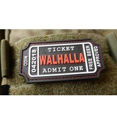 JTG | WALHALLA TICKET - Odin approved Patch