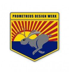 Prometheus Design Werx High Speed South Western Jackalope Sticker - outpost-shop.com