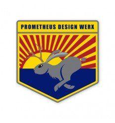 Prometheus Design Werx | High Speed South Western Jackalope Sticker