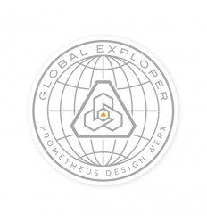 Prometheus Design Werx Global Explorer Sticker - outpost-shop.com