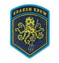 Prometheus Design Werx SPD Blue Ringed Kraken Krew Flash Morale Patch - outpost-shop.com