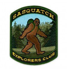 Prometheus Design Werx Sasquatch Explorers Club 2019 LTD ED Morale Patch - outpost-shop.com