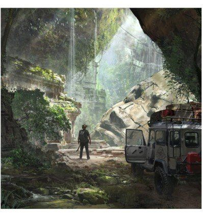 Prometheus Design Werx PDW Art Print - Jungle Ruins - outpost-shop.com