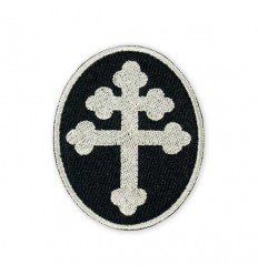 Prometheus Design Werx | Cross of Lorraine Silver Morale Patch