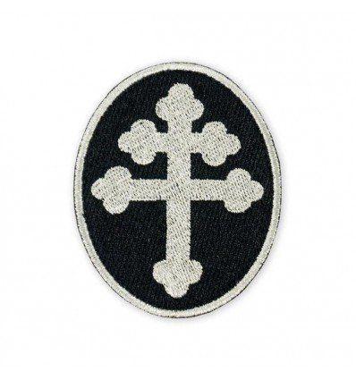 Prometheus Design Werx | Cross of Lorraine Silver Morale Patch