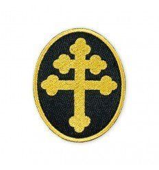 Prometheus Design Werx | Cross Of Lorraine Gold Morale Patch