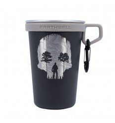 Triple Aught Design Earthwell Pint Cup TAD Edition Topo Skull Cave - outpost-shop.com