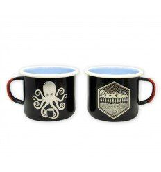 Prometheus Design Werx | SPD Kraken Koffee + All Terrain Enamelware Mugs
