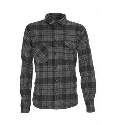 LMSGEAR The Flannel Grey Black - outpost-shop.com