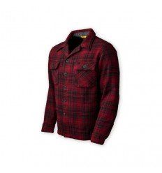 Prometheus Design Werx | DRB Woodsman Shirt - Red-Black Plaid