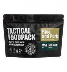 Tactical Foodpack Riz et porc - outpost-shop.com
