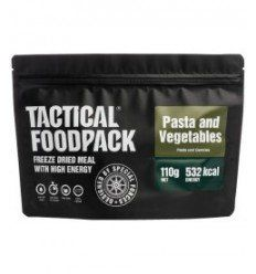 Tactical Foodpack Pâtes et Légumes - outpost-shop.com
