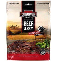 Conower Jerky Beef Peppered 60G - outpost-shop.com