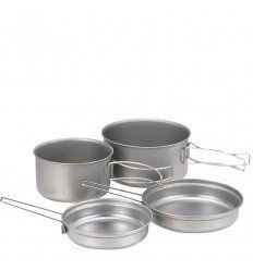 Snow Peak Titanium Multi Compact Cook Set - outpost-shop.com