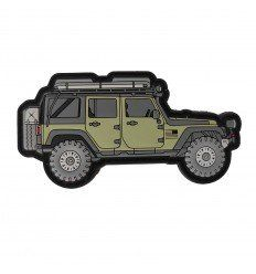 Outpost | Jeep Wrangler Serie one PVC Patch
