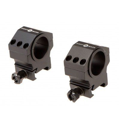 Sightmark | Tactical Mounting Rings - Medium Height Picatinny Rings (fits 30mm & 1inch)